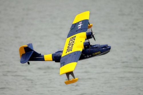 DYNAM  PBY CATALINA TWIN BLUE/YELLOW 1470MM DYN8943B